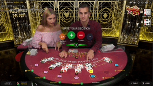 bj3 300x169 روش بازی بیست و یک (Blackjack)
