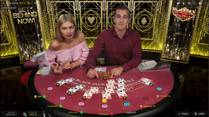 bj4 300x168 روش بازی بیست و یک (Blackjack)