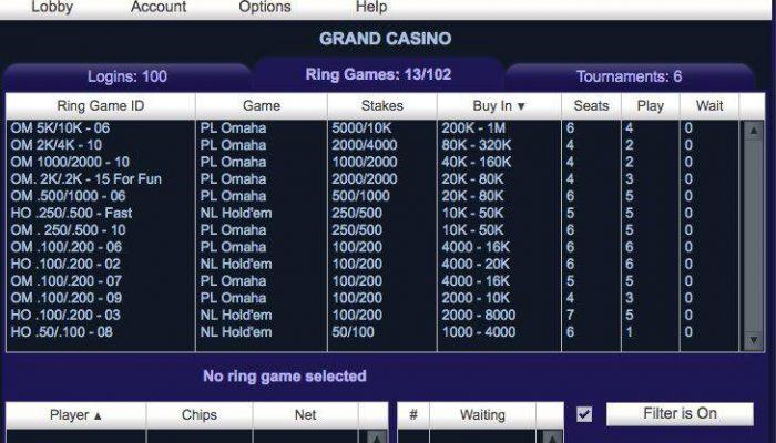 پوکر پولی grand casino