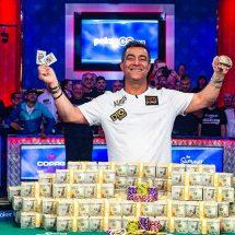 حسین انسان برنده مسابقات جهانی پوکر لاس وگاس