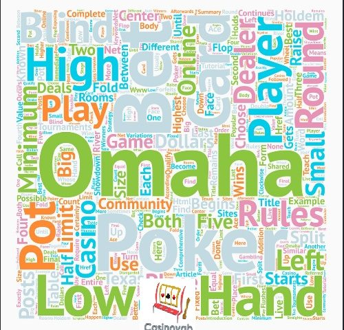 راهنمای بازی پوکر اوماها برای بازیکنان مبتدی